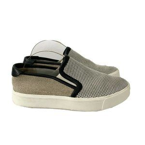 Vince Bram Mesh Canvas Slip On Fashion Sneakers